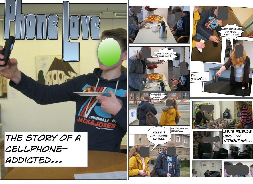 Comic Johannes Wentzel Schüleraustausch
