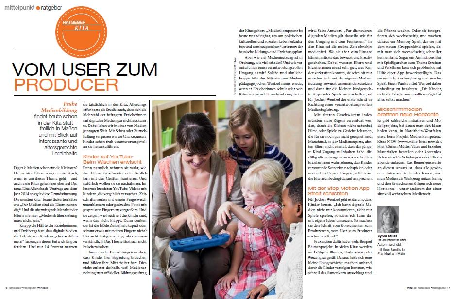 Familie und Co. - Interview mit Johannes Wentzel