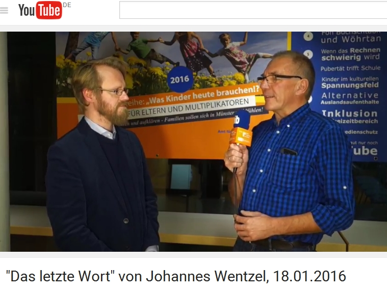 Votrag mit Johannes Wentzel