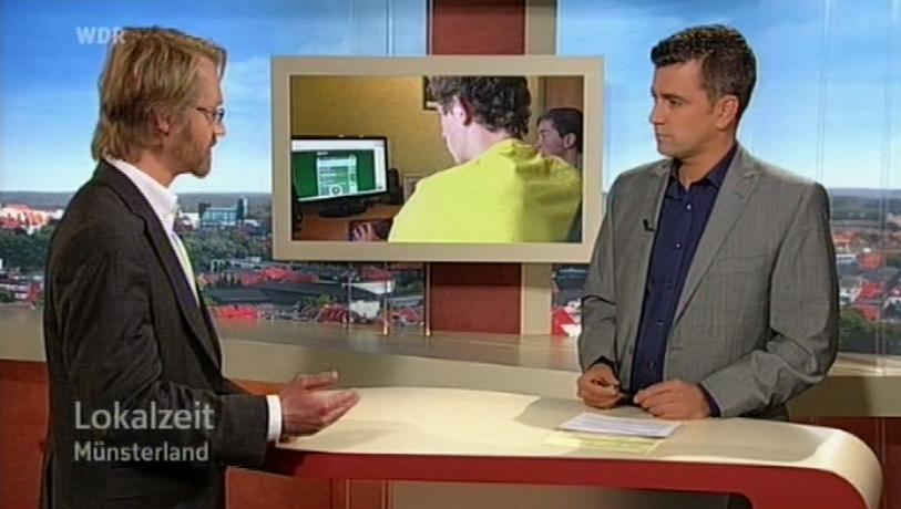 WDR-Lokalzeit Münster Johannes Wentzel