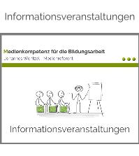 Informationsveranstaltungen-Johannes Wentzel-Medienkompetenz für die Bildungsarbeit