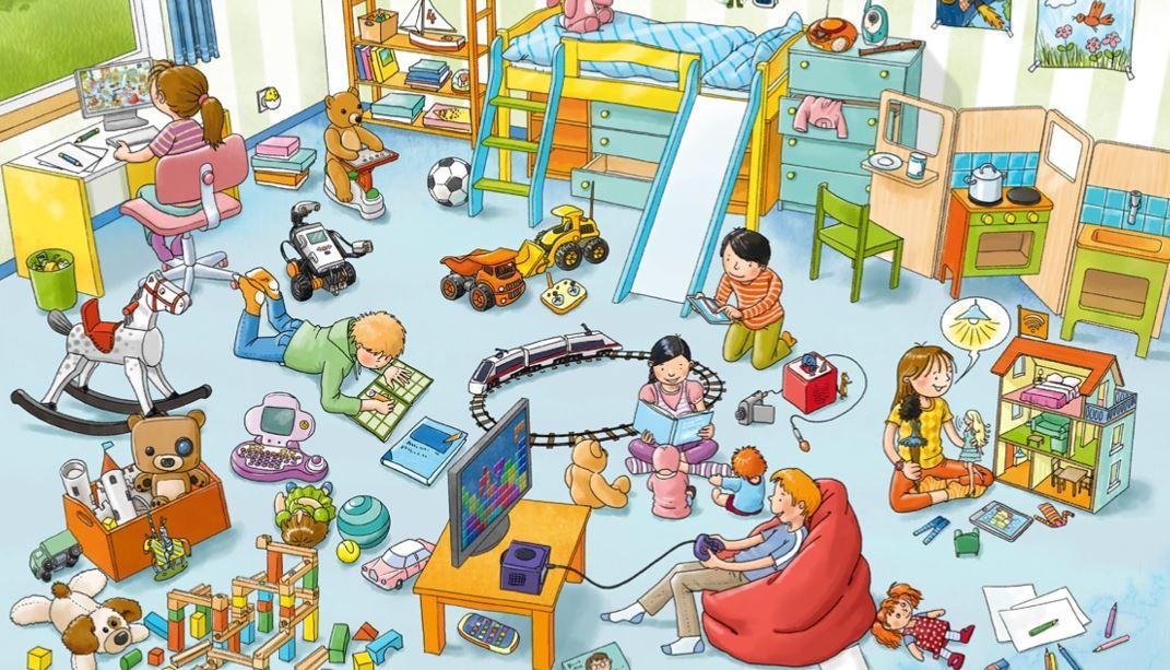 Medien Kinderzimmer