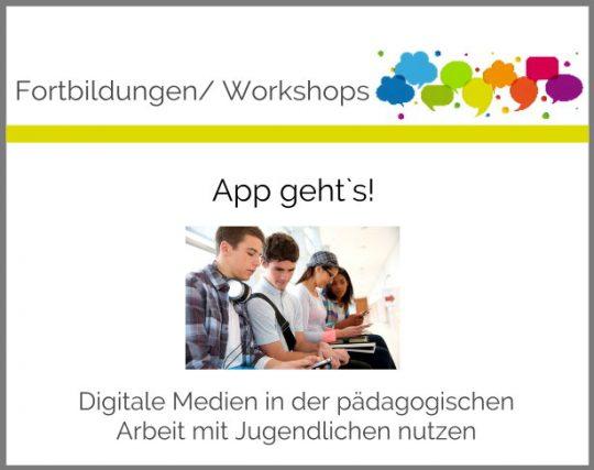 Fortbildung digitale Medien Jugendliche